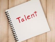 Gestión 54 del talento imagen de archivo