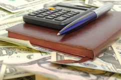 Gestión financiera Imagen de archivo libre de regalías