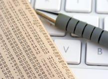 Gestión financiera Fotografía de archivo libre de regalías