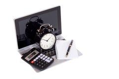 Gestión, planeamiento y contabilidad de tiempo del negocio Imagenes de archivo