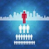 Gestión y toma de decisión de negocio Imagen de archivo libre de regalías
