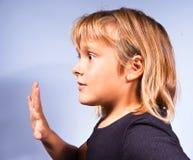 Gesti dei bambini Fotografia Stock Libera da Diritti