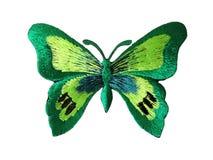 Gestickter Schmetterling Lizenzfreies Stockbild