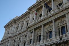 Gesticktes Gebäude Spaniens Andalusien viel Stockbild