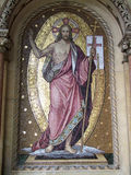 Gestiegener Christ Stockbild