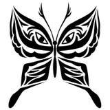 Gestileerd beeld van vlinderpictogram Stock Foto's