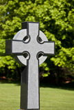 Gestileerd Keltisch Kruis Royalty-vrije Stock Foto