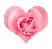 Gestileerd liefdesymbool Stock Afbeeldingen