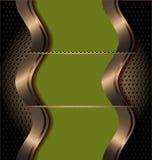 Gestileerd presentatiemalplaatje Stock Foto