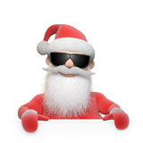 Gestileerd Santa Claus-karakter Stock Fotografie