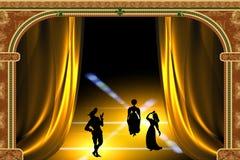 Gestileerd spel royalty-vrije illustratie