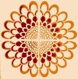 Gestileerde bloem Royalty-vrije Stock Afbeelding