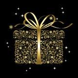 Gestileerde gift - vector Royalty-vrije Stock Foto