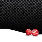 Gestileerde het gokken achtergrond Stock Fotografie