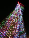 Gestileerde Kerstboom Stock Foto