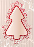 Gestileerde Kerstmisboom Royalty-vrije Stock Foto