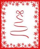 Gestileerde Kerstmisboom Stock Afbeeldingen