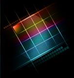 Gestileerde presentatie, optiemalplaatje Stock Foto