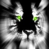 Gestileerde tijger royalty-vrije illustratie