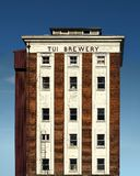 Gestileerde versie van Oud Tui Brewery, Mangatainoka, Nieuw Zeeland Royalty-vrije Stock Afbeelding