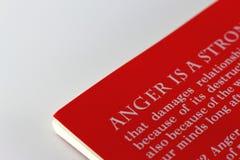 Gestion de colère Photographie stock libre de droits