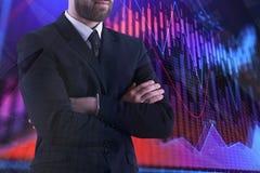Gestion de fonds, finances et concept d'économie photo stock
