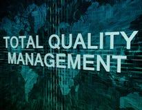 Gestion de la qualité totale illustration stock