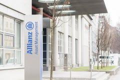 Gestion de patrimoine d'Allianz Photographie stock