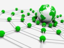 Gestion de réseau Photos stock