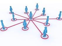 gestion de réseau Photo libre de droits