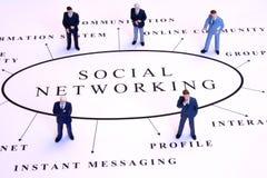 Gestion de réseau sociale Photos libres de droits
