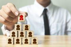 Gestion de ressource humaine et concept d'affaires de recrutement Images stock