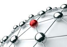 Gestion de réseau Image stock
