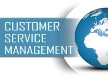 Gestion de service client illustration de vecteur