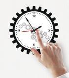 Gestion du temps et concept de date-butoir image stock
