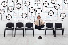 Gestion du temps experte Photo stock