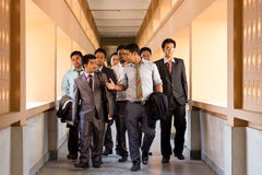 Gestion et étudiants en droit Photographie stock