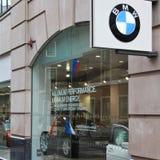Gestione commerciale di BMW Fotografie Stock Libere da Diritti