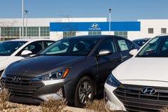 Gestione commerciale di Hyundai Motor Company Hyundai è un produttore automobilistico multinazionale sudcoreano II immagine stock libera da diritti