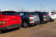 Gestione commerciale di Hyundai Motor Company Hyundai ? un produttore automobilistico multinazionale sudcoreano I immagine stock