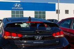 Gestione commerciale di Hyundai Motor Company Hyundai ? un produttore automobilistico multinazionale sudcoreano III immagine stock