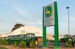 Gestione commerciale di John Deere in Shepparton, Australia Immagini Stock