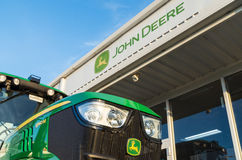 Gestione commerciale di John Deere in Shepparton, Australia Fotografie Stock Libere da Diritti