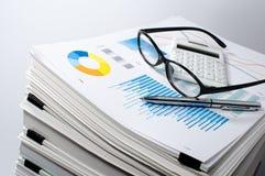 Gestione dei dati Gestione di documenti Concetto di affari Immagine Stock Libera da Diritti