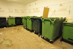 Gestione dei rifiuti Fotografie Stock Libere da Diritti