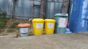 Gestione dei rifiuti fotografia stock