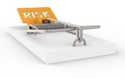 Gestione dei rischi illustrazione di stock