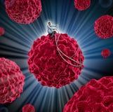 Gestione del Cancro Immagini Stock Libere da Diritti
