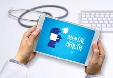Gestione dello stress psicologica mentale e Psychol di SALUTE MENTALE immagini stock