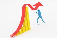 Gestione di crisi Immagine Stock